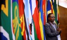 A delegate attends the 37th Ordinary SADC Summit of Heads of State and Government in Pretoria, South Africa August 19, 2017. REUTERS/Siphiwe Sibeko - RC1DBF3931D0