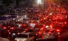 A general view of the traffic on a crowded road in Cairo October 26, 2010. Smog-ridden Cairo's gridlock shows investment in roads, railways and ports is failing to keep pace with economic growth, menacing public health and threatening economic asphyxiation. Around 12,000 deaths occur every year in Egypt because of road accidents, the highest rate in the world per head of population bar Eritrea and the Cook Islands, according to the World Health Organization's most recent report in 2009. The capital's congested roads come to a standstill daily as infrastructure fails to support population growth of 2 percent a year and as thousands of new cars hit the streets every year. Picture taken October 26, 2010. To match Feature EGYPT-BUSINESS/       REUTERS/Mohamed Abd El-Ghany (EGYPT - Tags: BUSINESS SOCIETY TRANSPORT) - GM1E71R08F001