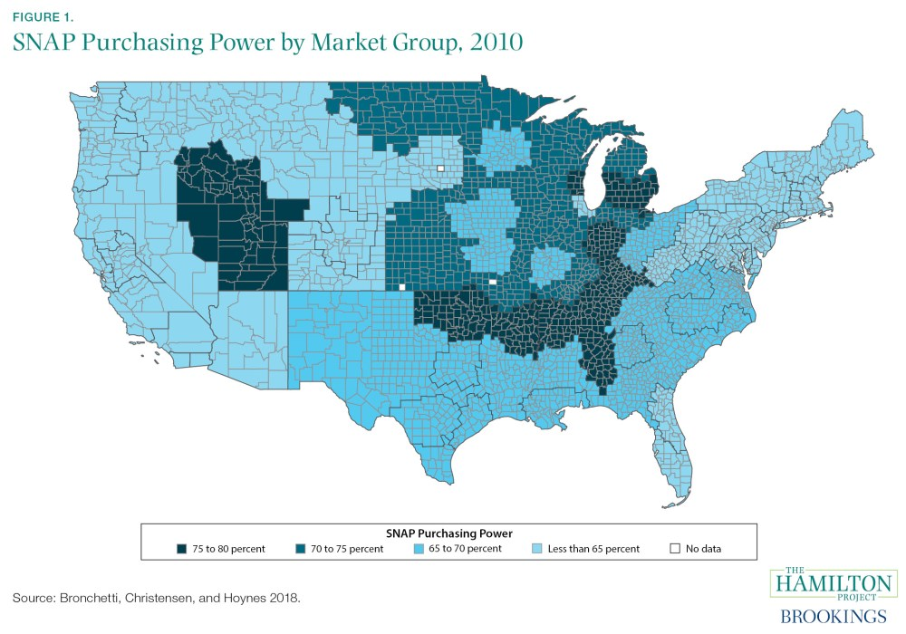 SNAP Purchasing Power by Market Group