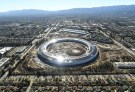 The Apple Campus 2 is seen under construction in Cupertino, California in this aerial photo.