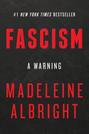 """Fascism: A Warning"" by Madeleine Albright book cover"