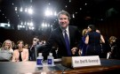 U.S. Supreme Court nominee judge Brett Kavanaugh takes his seat as his Senate Judiciary Committee confirmation hearing continues on Capitol Hill in Washington.