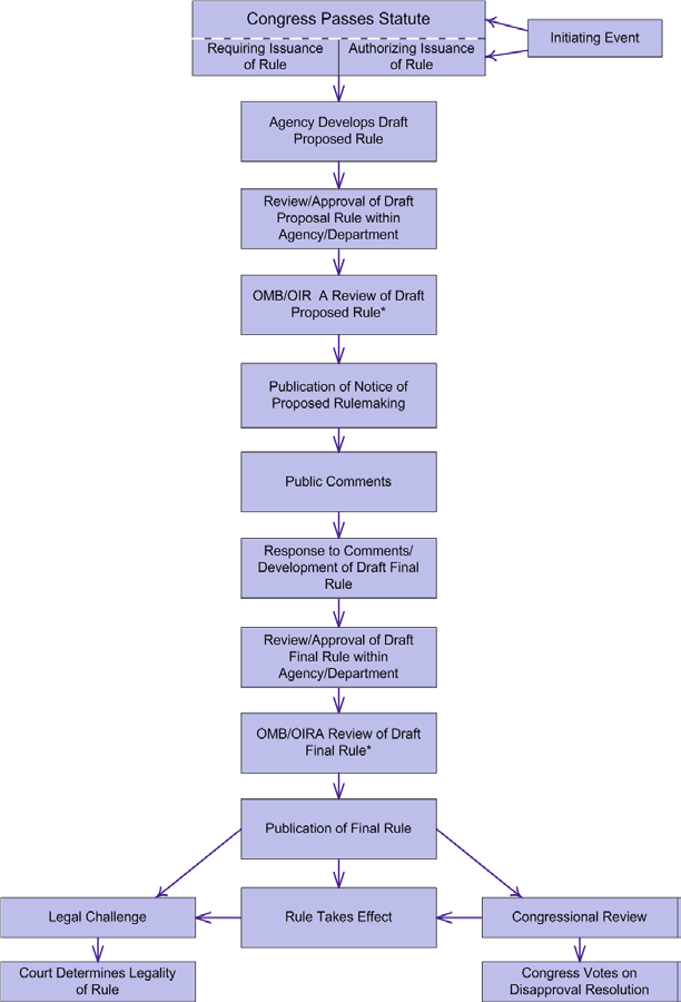 Fig 1 Summary of the rulemaking process
