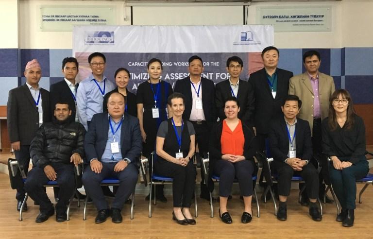 The OAA Asia International Team