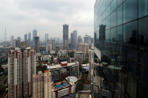 A general view of Mumbai's central financial district, India June 13, 2017. REUTERS/Danish Siddiqui - RC1A105EC5D0