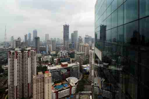 A general view of Mumbai's central financial district, India June 13, 2017. REUTERS/Danish Siddiqui - RC1A105EC5D0