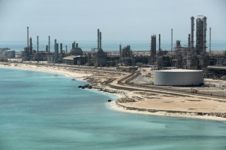 General view of Saudi Aramco's Ras Tanura oil refinery and oil terminal in Saudi Arabia May 21, 2018. Picture taken May 21, 2018. REUTERS/Ahmed Jadallah - RC131C42C760