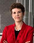 Professor Audrey Kurth Cronin at the Arlington campus. Photo by Alexis Glenn/Creative Services/George Mason University