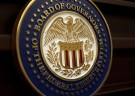The seal for the Board of Governors of the Federal Reserve System is displayed in Washington, U.S., June 14, 2017.   REUTERS/Joshua Roberts - RC18FB5E1BA0