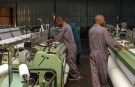 Workers are seen at the the Utexrwa garment factory in Kigali, Rwanda April 17, 2018. Picture taken April 17, 2018. REUTERS/Jean Bizimana - RC11BDF1B3C0