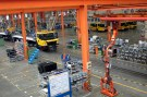 A factory floor of XCMG Group is seen in Xuzhou, Jiangsu province, China August 14, 2015. Two years after China unveiled a sweeping plan to rebuild Silk Road trade links with Europe and Asia, machinery maker XCMG Group has opened a factory in Uzbekistan, sent 300 staff abroad and set ambitious goals to grow overseas. XCMG's foreign venture piggybacks on China's bold scheme to extend its global influence through financing infrastructure projects in 65 nations that are home to two-thirds of humanity, and at the same time win new markets for companies weighed down by profit-crushing overcapacity at home. Picture taken August 14, 2015. REUTERS/Brenda Goh - GF10000192838