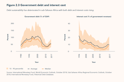 Government debt and interest cost