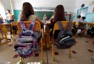 Elementary school children are seen in a classroom on the first day of class in the new school year in Nice, September 3, 2013.    REUTERS/Eric Gaillard (FRANCE - Tags: EDUCATION) - PM1E99310WR01