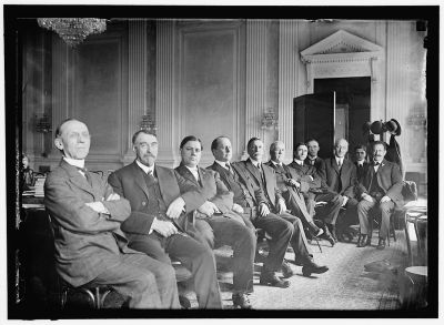 The Pujo Committee, pictured in 1912. [Credit: Library of Congress]