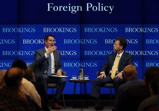 Rep. Seth Moulton at Brookings