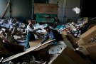 Employees works at a recycling factory in Belgrade, Serbia, February 28, 2019. Picture taken February 28, 2019. REUTERS/Marko Djurica - RC1F23F0C560