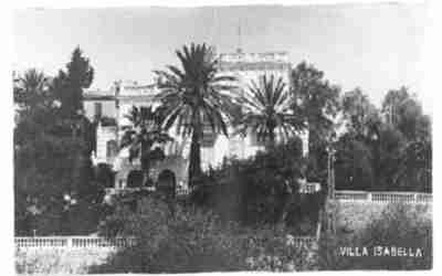Villa Isabella, image of postcard