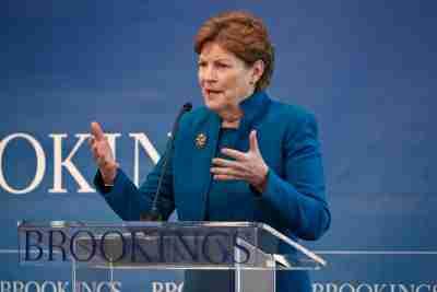 Sen. Jeanne Shaheen offers keynote remarks at democracy symposium