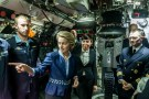 German defence Minister Ursula von der Leyen and her Norwegian counterpart Eriksen Soereide visit a German U34 submarine in Eckernfoerde, Germany, August 22, 2017.     REUTERS/Markus Scholz/POOL - RC1D79BE2370