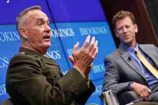 General Joseph Dunford at Brookings