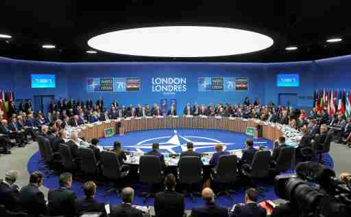 A general view during the NATO leaders summit in Watford, Britain, December 4, 2019. REUTERS/Kevin Lamarque - RC2EOD9QETAF