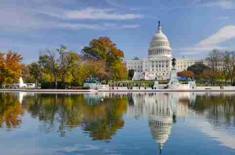 US Capitol Reflection
