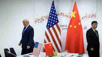 Trump et Xi Osaka 2019