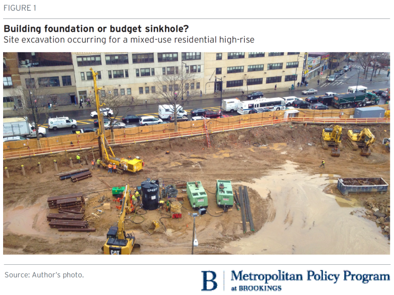 Parking requirements and foundations are driving up the cost of multifamily housing