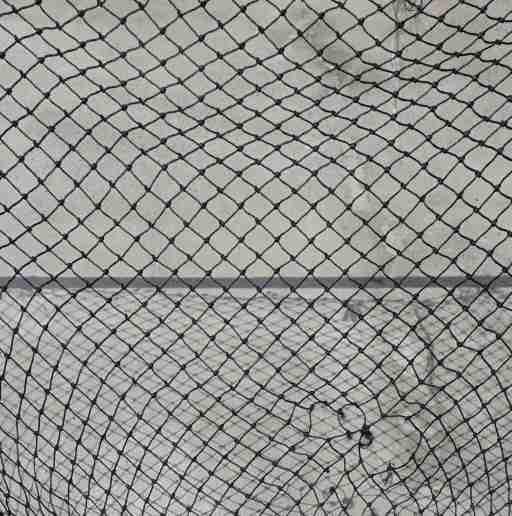 Ripped netting