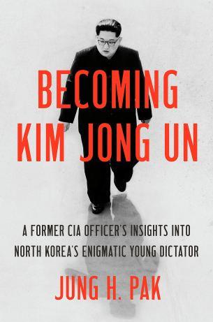 """Capa do """"Tornando-se Kim Jong Un"""""""