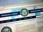 Website of The Financial Crimes Enforcement Network or FinCEN, a bureau of the U.S. Department of the Treasury.