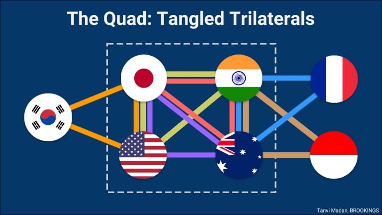 Quad trilateral