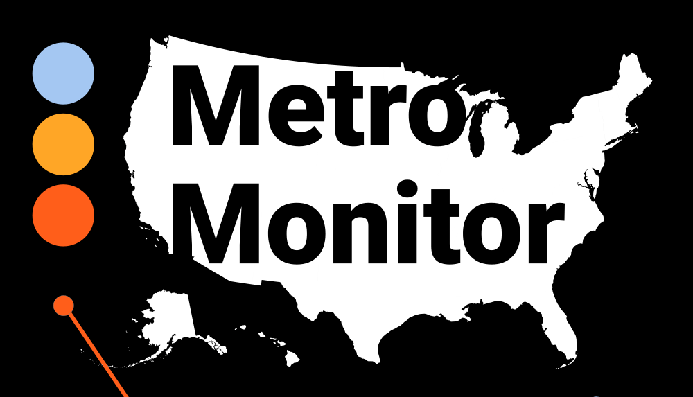 metro monitor logo with map