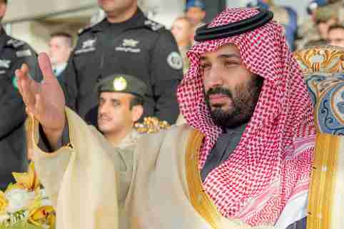 """File photo dated December 23, 2018 of Saudi Crown Prince Mohammed bin Salman (also known as MBS) attends a graduation ceremony for Saudi airforce officers at King Faisal Airbase in Tabuk, Saudi Arabia. A US intelligence report has found that Saudi Crown Prince Mohammed bin Salman approved the murder of exiled Saudi journalist Jamal Khashoggi in 2018. The report released by the Biden administration says the prince approved a plan to either """"capture or kill"""" Khashoggi. Photo by Bandar Al Jaloud - Royal Palace / ABACAPRESS.COM"""