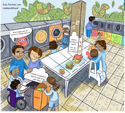 Playful Learning Landscapes laundromat cartoon
