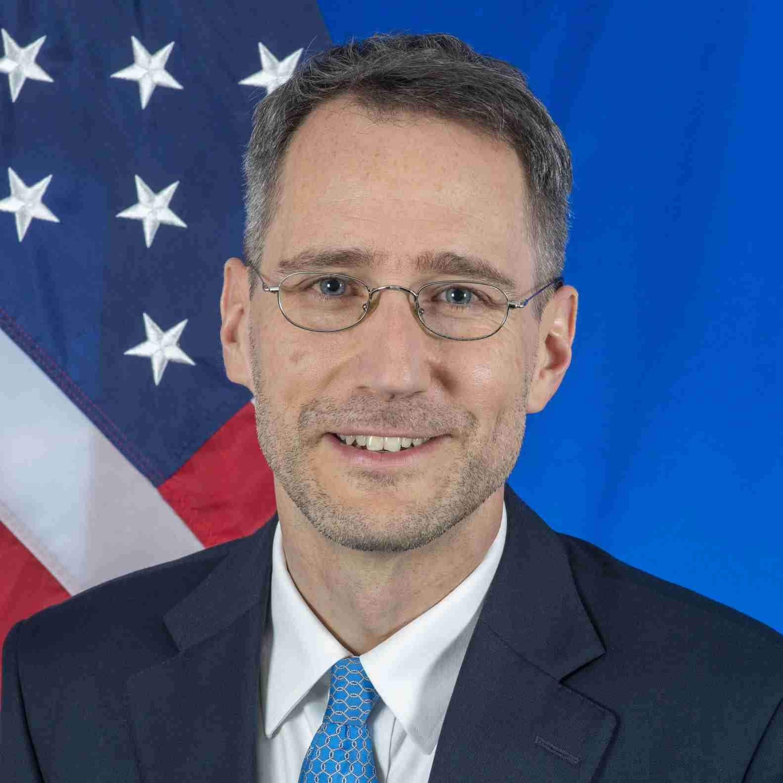 Headshot of Joey Hood, Acting Assistant Secretary of State for Near Eastern Affairs