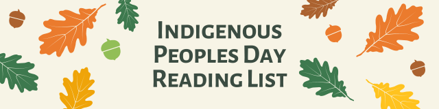 Indigenous Peoples Day Reading List