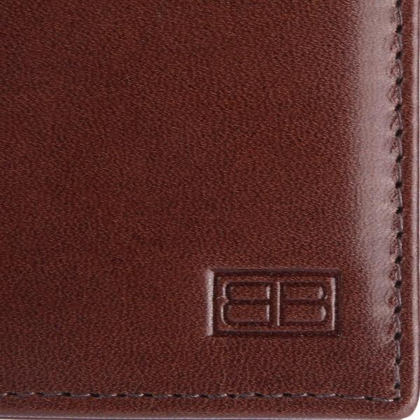 RFID Blocking Bifold Genuine Leather Slim Leather Wallet For Men | Brown