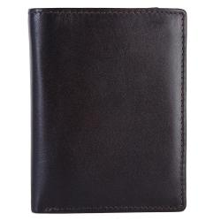 Bifold Genuine Leather Wallet For Men | Dark Brown