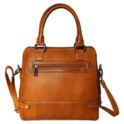 Genuine Leather Hand Bag For Women | Tan