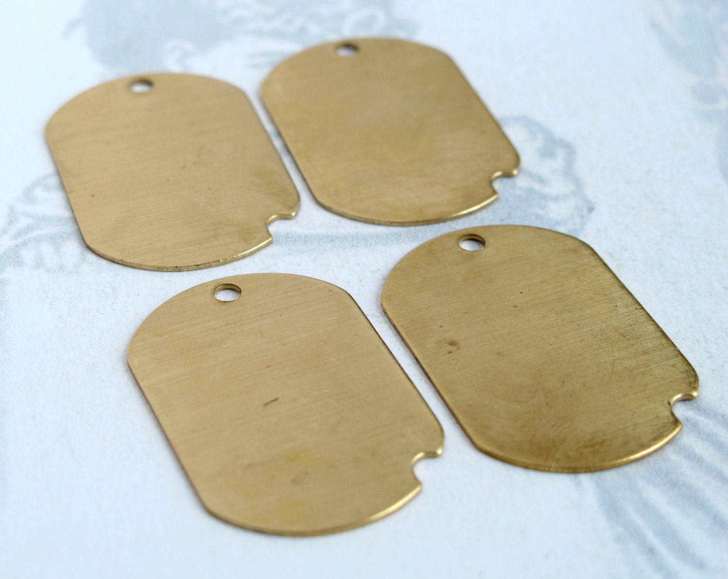 Custom Tags Wholesale Engraved Jewelry
