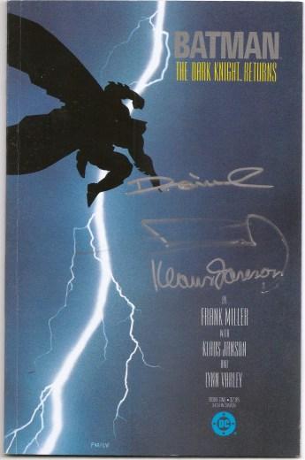 Batman: The Dark Knight Returns # 1 SIGNED Frank Miller Klaus ...