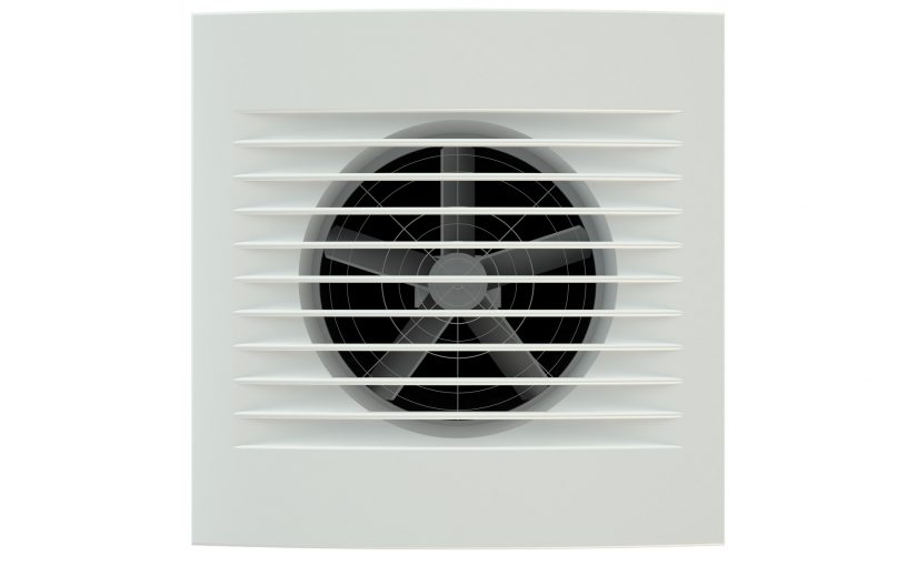 how to install an exhaust fan in a wall