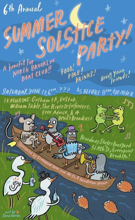 north brooklyn boat club summer solstice