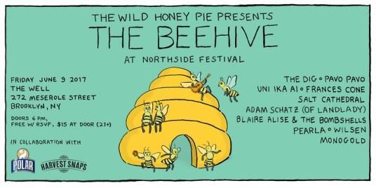 the wild honey pie beehive at northside