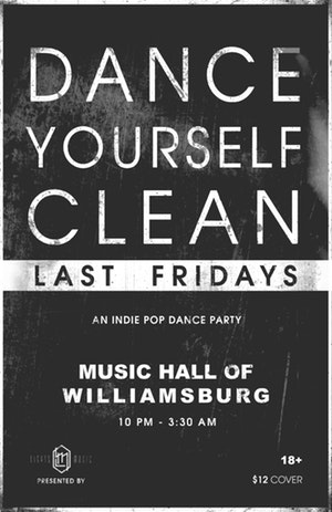 dance yourself clean at music hall of williamsburg