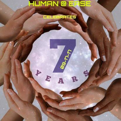 human ease 7th anniversary party