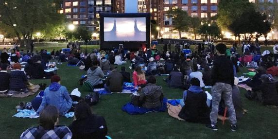 ghostbusters in battery park