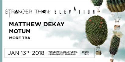 elevation with matthew dekay