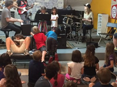 Faculty jam during Summer Camp